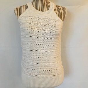 White House Black Market Sleeveless Sweater